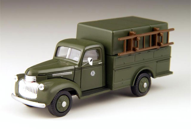 Bell Telephone - 1941-1946 Chevy Utility Truck  (1:87)