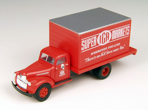 IGA Super Markets - 1941-1946 Chevrolet Delivery Truck  (1:87)