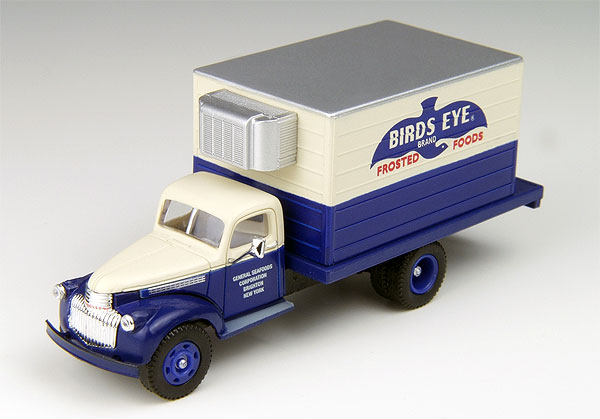 1941-46 Chevy Refer Truck, Bird%27s Eye Frozen Foods  (1:87)