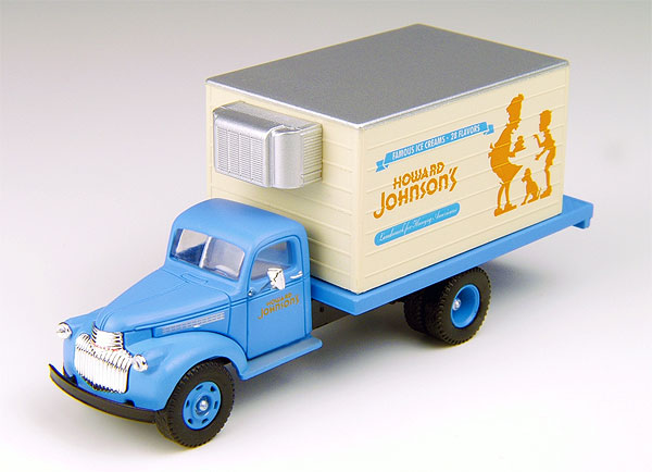 Howard Johnson%27s - 1941-1946 Chevy Delivery Truck  (1:87)
