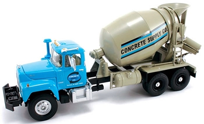 Concrete Supply - Mack R Cement Mixer Truck (1:34)