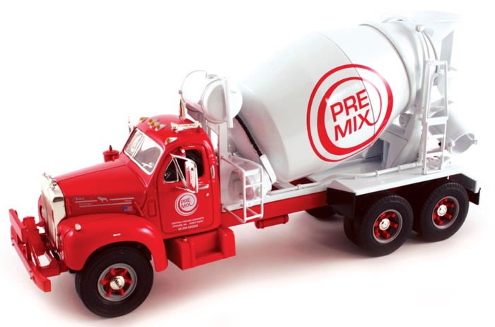 Central Ready Mix - 1960 Mack Cement Mixer (1:34)