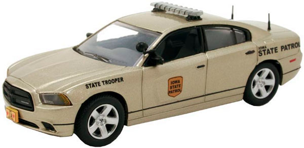 Iowa State Patrol - Dodge Charger Police (1:43)