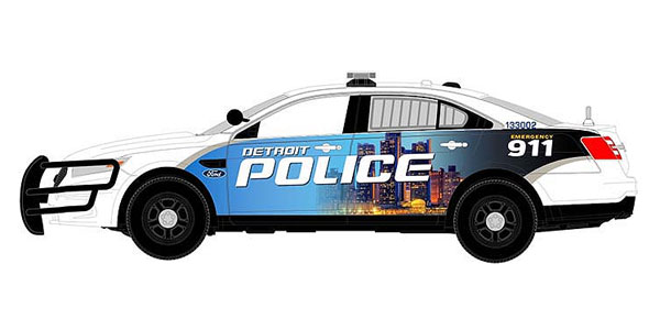 Detroit MI Police - 2014 Ford Police Interceptor (1:43)