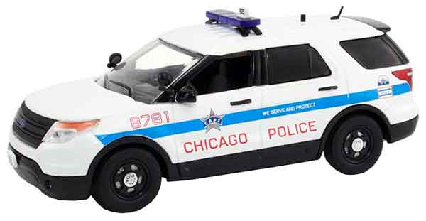 Chicago IL - 2014 Ford Police Interceptor Utility (1:43)
