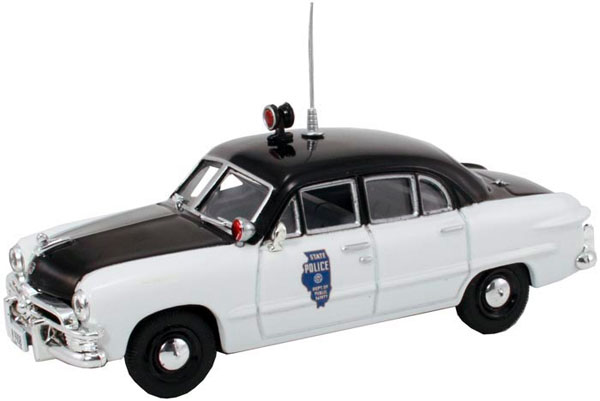 Illinois State Police - 1950 Ford 4-Door Sedan (1:43)