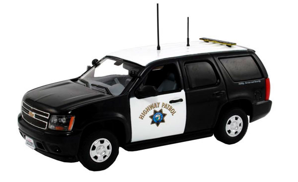 California Highway Patrol - 2011 Chevrolet Tahoe Police (1:43)
