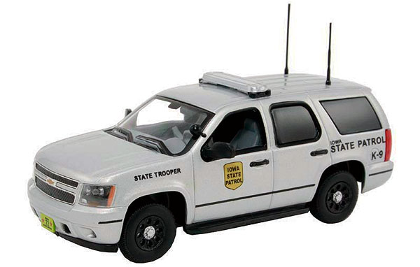 Iowa State Patrol - 2011 Chevrolet Tahoe Police (1:43)