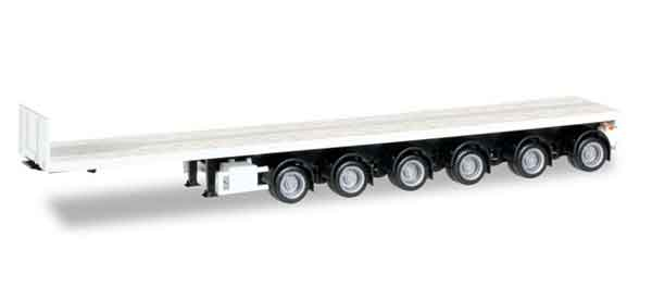 6-Axle Noteboom Flatbed Trailer (1:87)