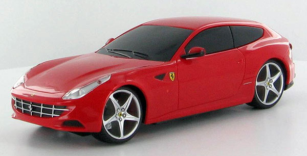 Ferrari FF in Red - Remote Controlled Vehicle 49 MHz (1:24)