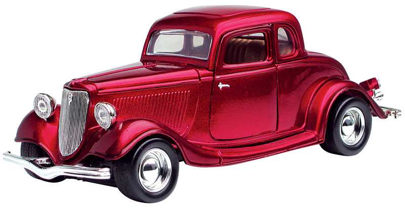 1934 Ford Coupe in Metallic Red (1:24)