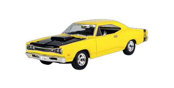 1969 Dodge Coronet Super Bee in Yellow (1:24)