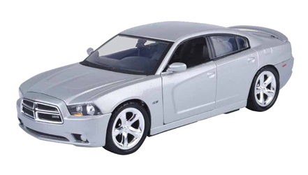 2011 Dodge Charger R/T in Silver (1:24)