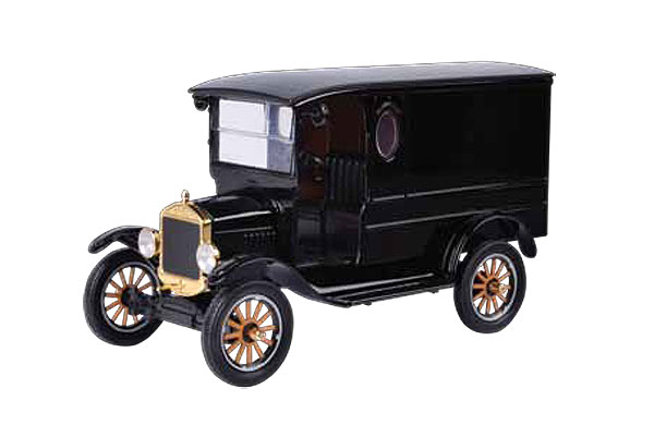1925 Ford Model T Paddy Wagon in Black - Platinum Collection (1:24)