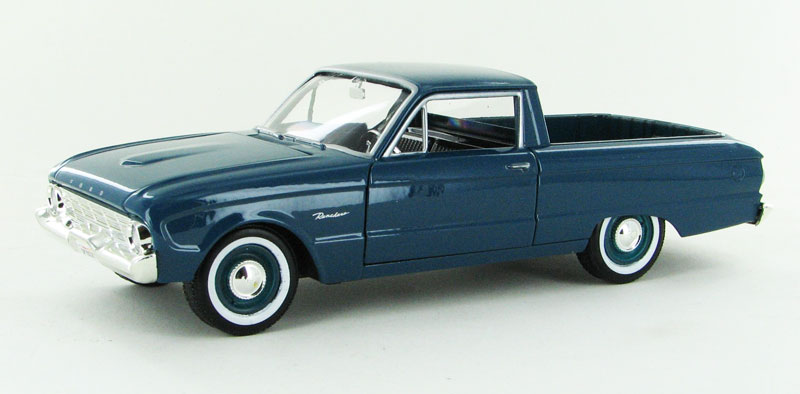 1960 Ford Ranchero in Turquoise (1:24)