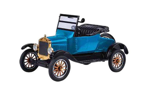 1925 Ford Model T Runabout Convertible in Blue - Platinum Collection (1:24)