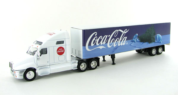 Coca-Cola - Tractor Trailer Bears and Tree (1:64)