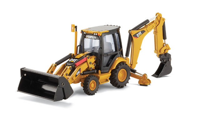 Caterpillar 420E Backhoe Loader Also (1:50)