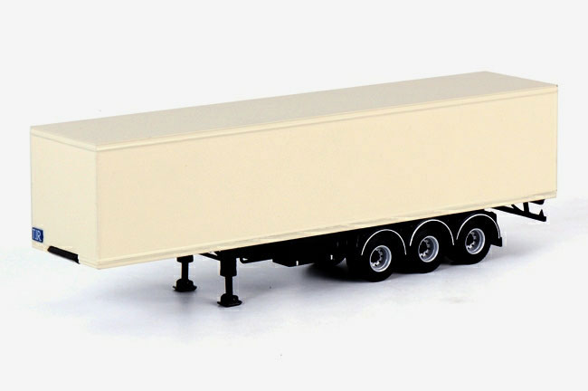 3-Axle Classic Box Trailer (1:50)