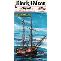 Black Falcon Pirate Ship 1:100
