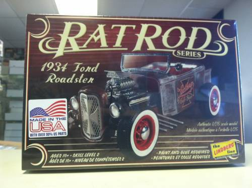 34 Ford Roadster Rat Rod 1:25