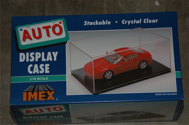 Car Case Clear Base (1:18)