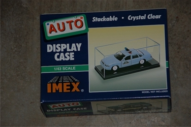 Car Case Black Base 1:43 2pk