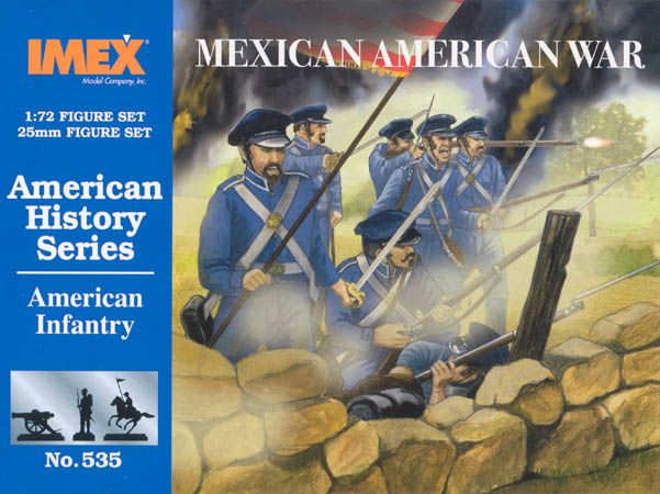 American Inf Mexican War (1:72)