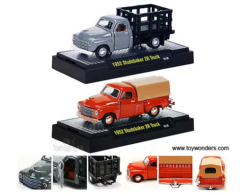 Detroit-Cruisers Release 02C (1:64 scale diecast model car, Assorted Colors.)