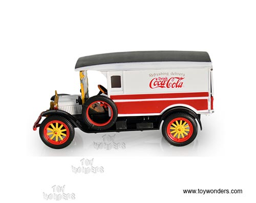 Coka Cola - White Van Pick Up (1920, 1:32 scale diecast model car,