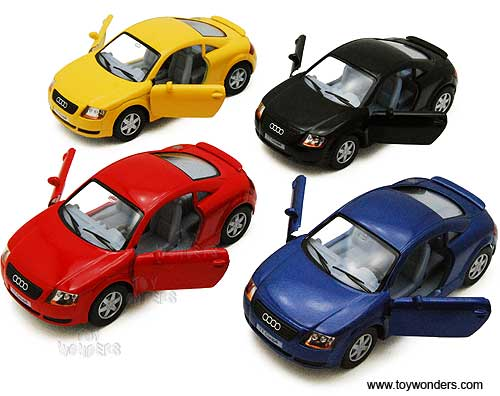 Audi TT Coupe Hard Top (1:32 scale diecast model car, Assorted Colors.)