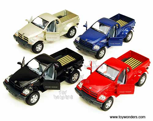 Dodge Power Wagon Pickup (1:42 scale diecast model car, Assorted Colors.)
