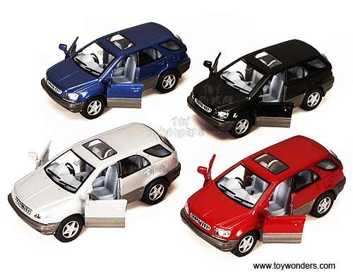 Lexus RX 300 SUV w: Sunroof (1:36 scale diecast model car, Assorted Colors.)