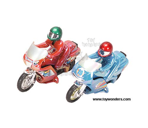 "Power Motorcycle (5.5"", Assorted Colors.)"