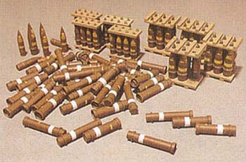 Howitzer Rounds/Storage Case 1:35, AFV Plastic Model Kits Item Number AFV35017