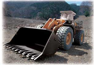 R/C Wheeled Loader (1:14 Scale) 27.145 MHz, Hobby Engine Radio Control Item Number HOB806