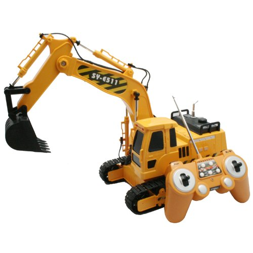 Radio Control Excavator (1:20 Scale) 27Mhz, Double Eagle Item Number MRC47511003