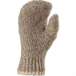 Fox River Double Ragg Mitt, Medium, Brown Tw by FoxRiver, Item Number FOX-9988-06120-M