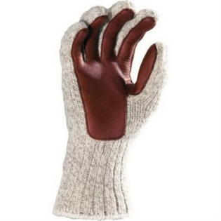 Fox River Ragg and Leather Glove, Large, Brown Tweed by FoxRiver, Item Number FOX-9300-06120-L