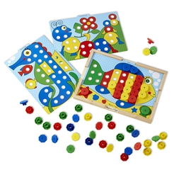 Sort and Snap Color Match Sort and Snap Color Match, Melissa And Doug Item Number DSA4313.0