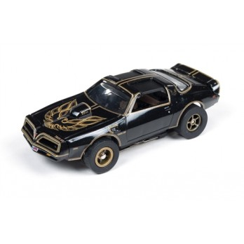 Xtraction R13 Smokey & the Bandit 1977 Pontiac Trans Am Version A Slot Car 1:64, Auto World Item Number AUW274