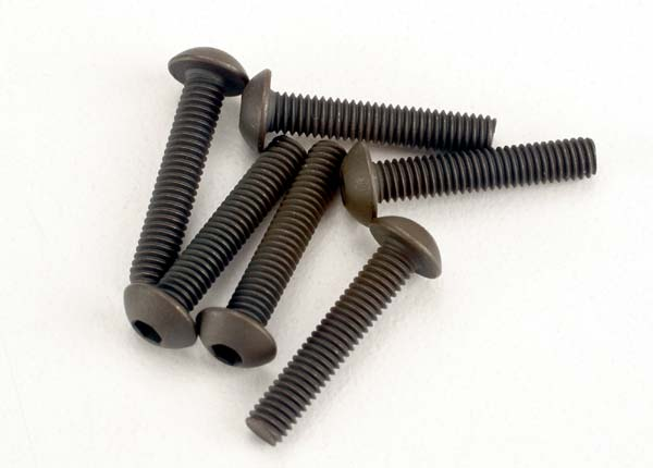 Button Head Machine Screw 3x15mm Revo (6), Traxxas Radio Control Item Number TRX2579