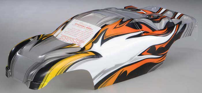 Body Rustler ProGraphix w/Decal Sheet, Traxxas Radio Control Item Number TRX3717