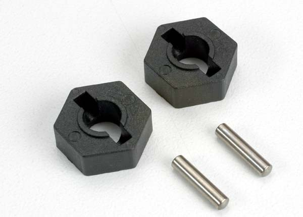 Hex Wheel Hubs/Pins T-Maxx (2), Traxxas Radio Control Item Number TRX4954