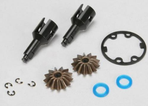 Drive Cups Inner (2) (For Steel Constant Velocity Driveshafts)/ Differential Spider Gears (2)/ Gaskets Hardware, Traxxas Radio Control Item Number TRX5125