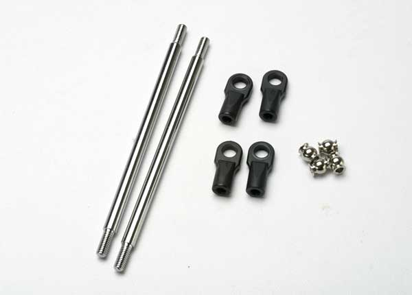Steel Pro-2 (Stock) Rocker Arm Pushrods 102mm Revo, Traxxas Radio Control Item Number TRX5318