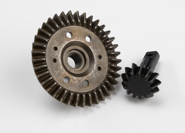 Differential Ring Gear/Pinion Gear Revo 3.3, Traxxas Radio Control Item Number TRX5379X