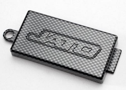 Receiver Cover (Chassis Top Plate) - Exo-Carbon Finish (Jato), Traxxas Radio Control Item Number TRX5524G