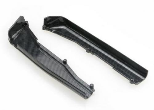 Dirt Guards - Left And Right - Exo-Carbon Finish (Jato), Traxxas Radio Control Item Number TRX5527G