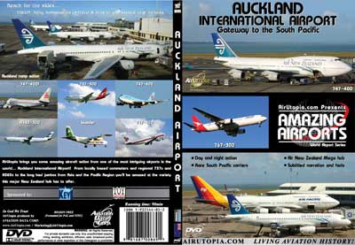 Auckland International Airport (DVD), Air Utopia Aviation DVDs Item Number AUT53